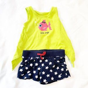 5/$25 Toddler girls summer outfit 2T